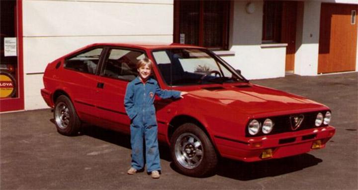 Der kleinste Automechaniker: Simon Sutter
